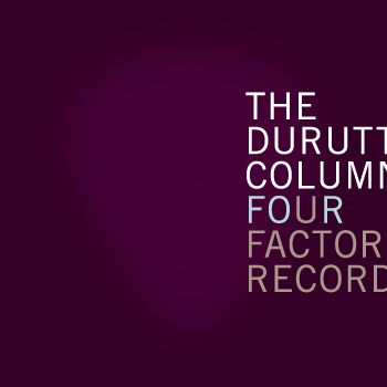 Four Factory Records; front cover detail