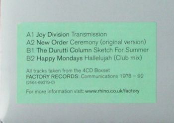 Factory Records: Communications 1978-92 10