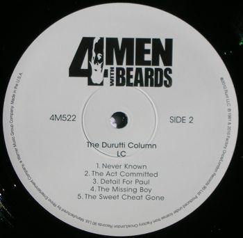 LC; 4 Men With Beards 2010 reissue