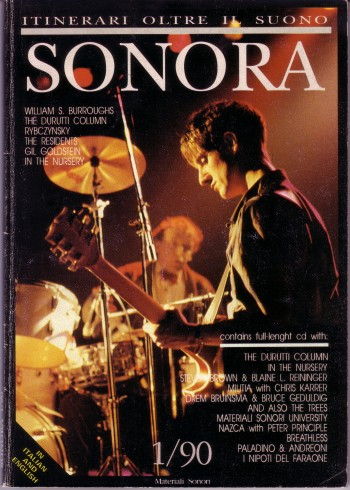 Sonora (magazine with free cd); front cover