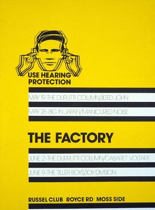 The Factory, Manchester, 9 June 1978